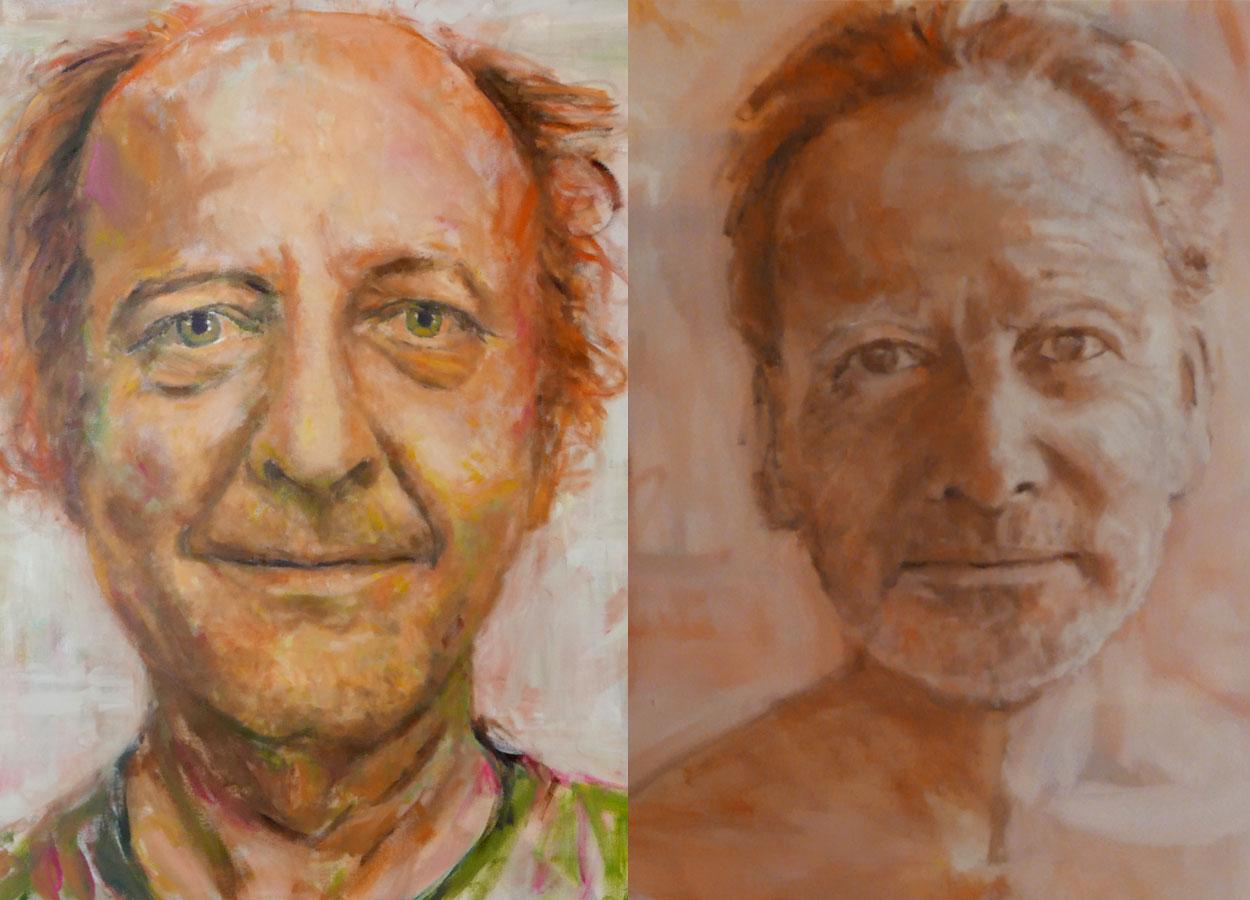 Porträts Chrigu und Robert