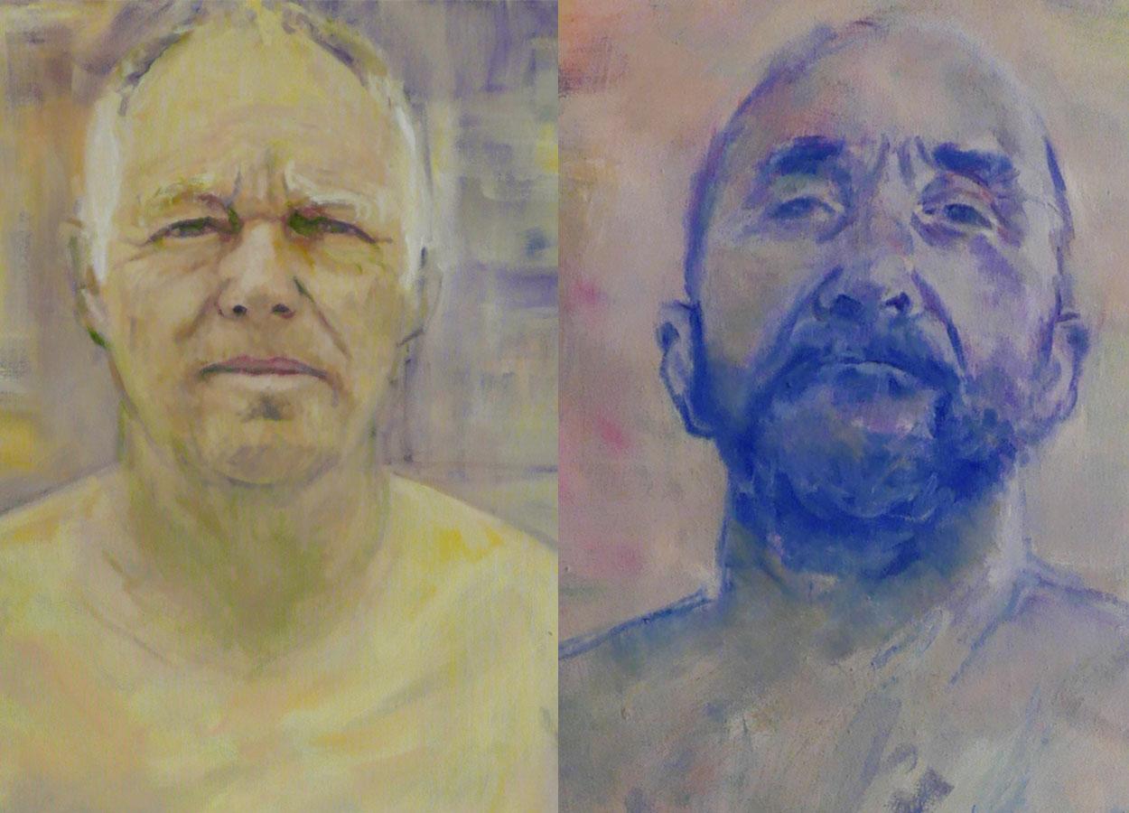 Porträts Thomas und Raoul